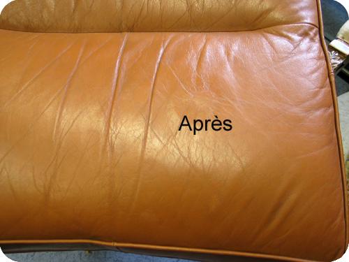comment reparer dechirure canape cuir