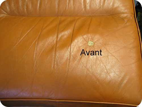 Comment reparer canape cuir dechire for Reparation canape cuir paris